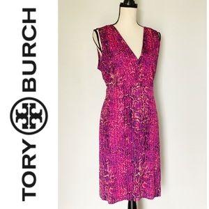 Dresses & Skirts - Tory Burch  Snake Pattern Silk Carly Dress